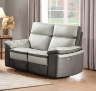 Homelegance Otto Loveseat in Light Grey