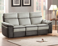 Homelegance Otto Sofa in Light Grey