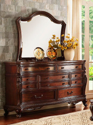 Homelegance Bonaventure Park Dresser and Mirror