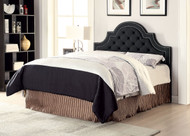 Coaster Ojai Upholstered Button Tufted Headboard in Charcoal