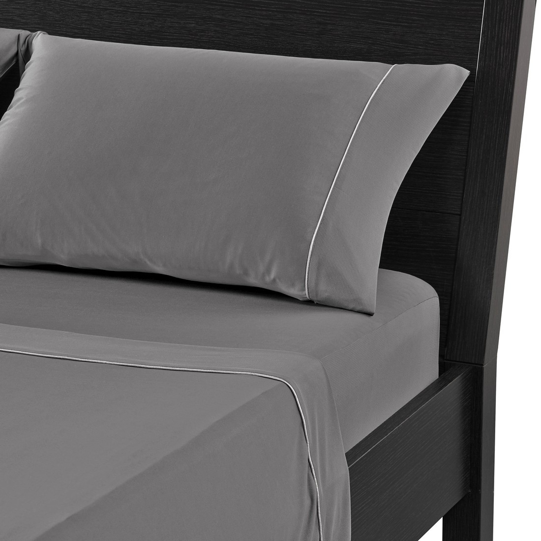 reverie luxe performance deep pocket sheet set in graphite