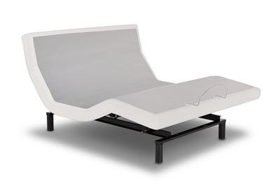 leggett & platt idealbed iescape adjustable bed base, ivory