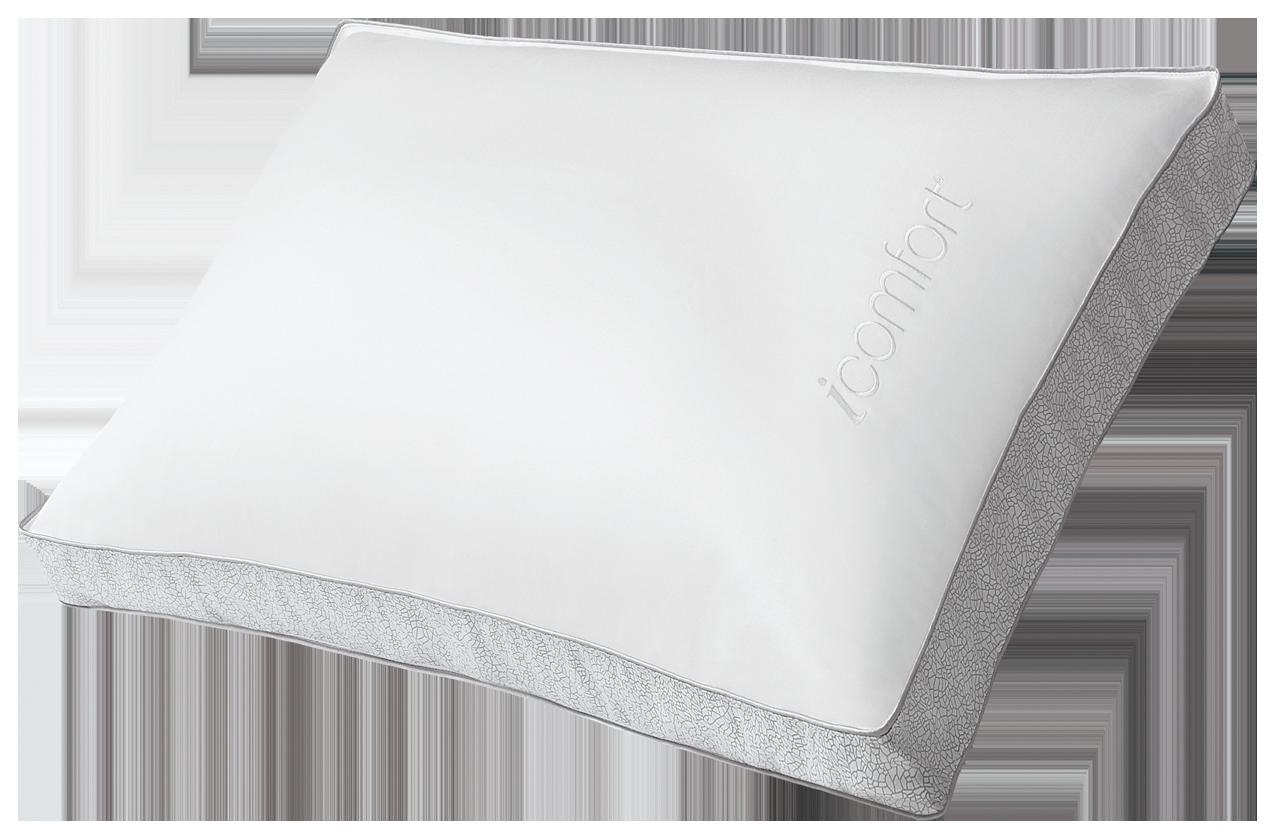 serta icomfort hybrid triple effects gel memory foam pillow   firm  queen