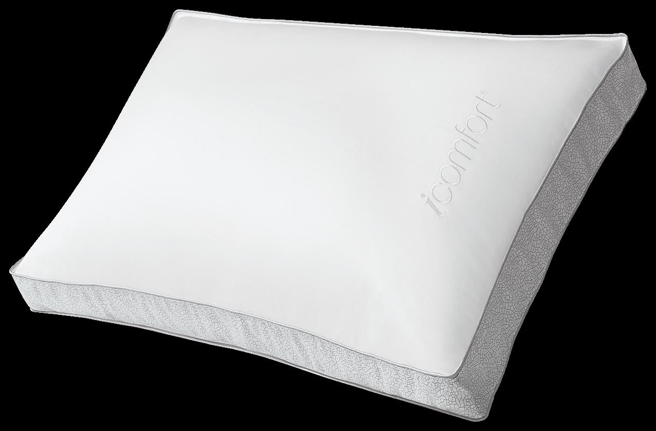 serta icomfort hybrid triple effects gel memory foam pillow firm queen. Black Bedroom Furniture Sets. Home Design Ideas