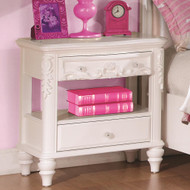 Coaster Caroline Nightstand in White