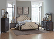 Homelegance Lindley Button Tufted Upholstered Bedroom Set