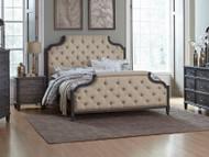 Homelegance Lindley Button Tufted Upholstered Bed