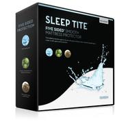 Malouf Sleep Tite Five 5ided Smooth Mattress Protector 1
