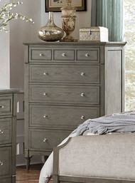 Homelegance Albright Collection Chest in Oak