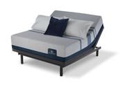 Serta iComfort Blue Max 1000 Plush Mattress with Motion Essentials III Adjustable Bed Set