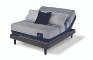 Serta iComfort Blue Max 1000 Cushion Firm Mattress with Motion Perfect III Adjustable Bed Set