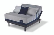 Serta iComfort Blue Max 5000 Elite Luxury Firm Mattress with Motion Essentials III Adjustable Bed Set