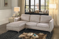 Homelegance Breaux Collection Sectional in Beige