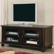 Coaster Yuli TV Console in Merlot