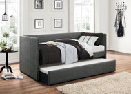 Homelegance Therese Collection Daybed in Grey