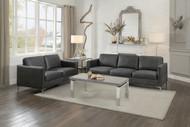Homelegance Breaux Collection 2 Piece Bedroom Set in Dark Grey