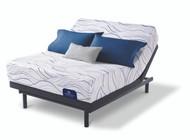 Serta Perfect Sleeper Memory Foam Backstrom Plush Mattress with Motion Essentials III Adjustable Bed Base