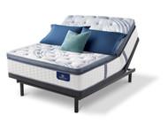 Serta Perfect Sleeper Elite Super Pillow Top with Motion Essentials III Adjustable Bed Set