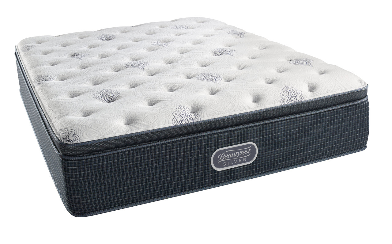 Simmons Beautyrest Silver Level 1 Luxury Firm Pillow Top
