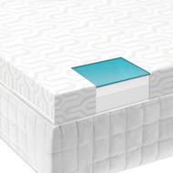 """Malouf Isolus 2.5"""" Liquid Gel Memory Foam Mattress Topper"""