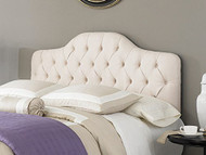 Fashion Bed Group Martinique Upholstered Headboard Ivory