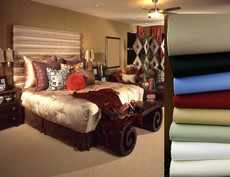 Selected Colors  600 Thread Count Egyptian Cotton Split King Bed Sheets