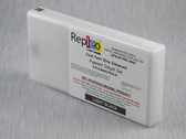 Repleo Remanufactured Epson T653700 200 ml Cartridge for the Epson Pro 4900 filled with Cave Paint Elite Enhanced Pigment ink - Light Black
