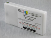Repleo Remanufactured Epson T653100 200 ml Cartridge for the Epson Pro 4900 filled with Cave Paint Elite Enhanced Pigment ink - Photo Black
