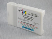 Repleo Remanufactured Epson T603500 220 ml Cartridge for the Epson Pro 7800/9800 filled with Cave Paint Elite Enhanced Pigment ink - Light Cyan