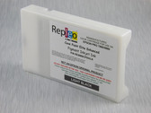 Repleo Remanufactured Epson T603700 220 ml Cartridge for the Epson Pro 7880/9880 filled with Cave Paint Elite Enhanced Pigment ink - Light Black