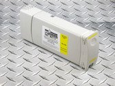 Re-manufactured HP81 680 ml Cartridge for HP DesignJet 5000/5500 filled with i2i Absolute Match HP81 dye ink - Yellow