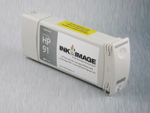 Re-manufactured 775 ml Cartridge for HP Z6100 filled with i2i Absolute Match HP91 pigment ink - Light Grey