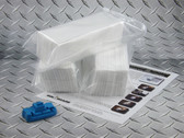 Maintenance tank recycle kit for Epson Pro 7890, 7900, 9890, and 9900 including chip resetter and three sets of absorbent wadding.