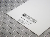 """i2i Matte Inkjet Media Sample pack - two 8.5"""" x 11"""" sheets each of six different matte papers"""