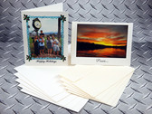 Ink2image InSight Archival Inkjet Greeting Cards, 19 mil 330 gsm, with envelopes, pack of 100
