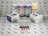 Sublim8 dye sublimation refillable cartridge starter kit of the Epson WorkForce WF7110, WF7610, WF7620
