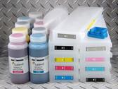Sublim8 dye sublimation refillable cartridge starter kit for the Epson Pro 7890/9890