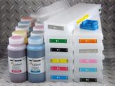 Sublim8 dye sublimation refillable cartridge starter kit for the Epson Pro 7900/9900