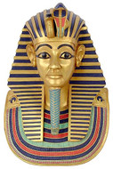 Funerary Mask of King Tutankhamun (Wall plaque) : Egyptian Museum, Cairo, 1347-1237 B.C. - Photo Museum Store Company
