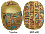 Egyptian scarab : Egyptian Museum, Cairo. New Kingdom, 1550-1196 B.C. - Photo Museum Store Company