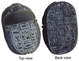Egyptian Scarab : Egyptian Museum, Cairo. New Kingdom, 1550-1196 B.C. - Photo Museum Store Company