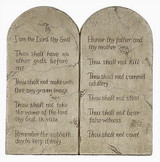 Ten Commandments (Decalogue) - Small 10 Commandments - Photo Museum Store Company