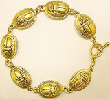 Scarab Link Bracelet - Photo Museum Store Company
