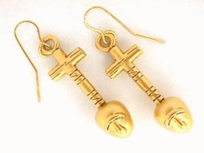 Nefer Earrings - Buy a Replica Nefer Earrings from Museum ...