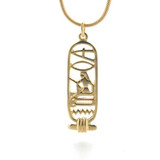 "Cartouche Pendant - ""I Love You"" - Photo Museum Store Company"