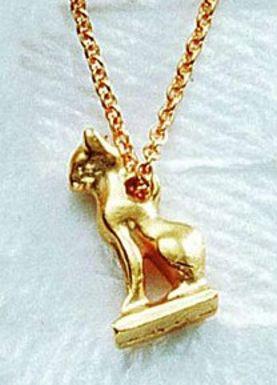 Cat amulet pendant buy a replica cat amulet pendant from museum cat amulet pendant egyptian 940 730 bc photo museum store company aloadofball Gallery