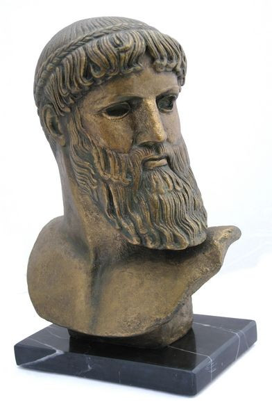 Head of Zeus - National Museum, Athens,  450BC - Photo Museum Store Company