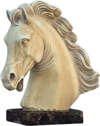 Parthenon Horse - Parthenon Temple, Athens. 465 B.C. - Photo Museum Store Company