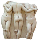 The Three Graces - Louvre Museum, Paris,  100BC - Photo Museum Store Company
