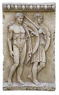 Greek Warriors Relief - Photo Museum Store Company